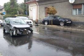 De la cititori: Accident spectaculos in Baia Mare (FOTO)
