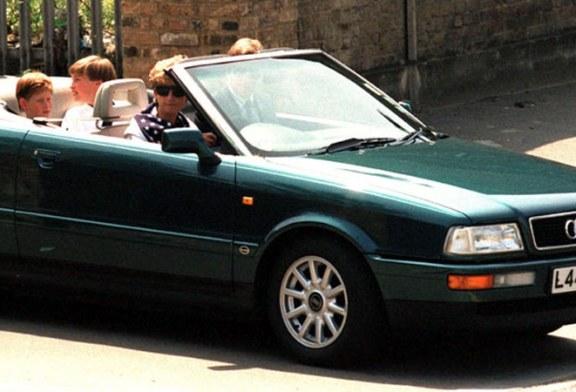 Fosta masina a printesei Diana si un autoturism ce a apartinut Reginei vor fi scoase la licitatie