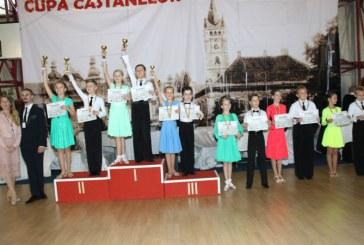 """Dans sportiv: 18 medalii pentru Galactic Dance la """"Cupa Castanelor"""""""