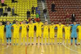 In Baia Mare, Romania a invins Ungaria la fotbal in sala