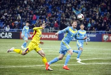 Fotbal: Romania, doar remiza cu Kazahstan (0-0), in preliminariile CM 2018