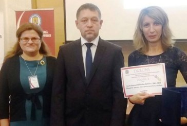 Scoala Nicolae Balcescu Baia Mare a obtinut locul II la nivel national in cadrul competitiei celor mai bune practici din administratia publica din Romania
