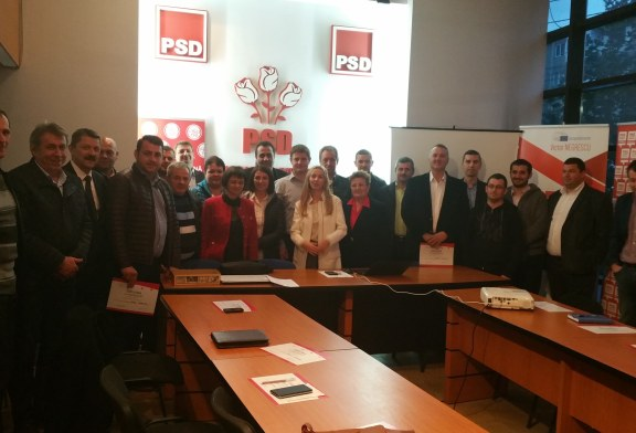 """Training pentru """"Alesi locali PSD la primul mandat"""""""