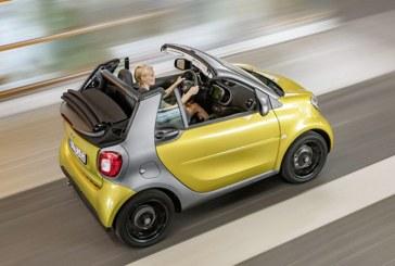 Cochetele automobile Smart, pe primul loc in clasamentul celor mai furate masini pentru al treilea an consecutiv