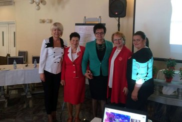 Femeile social-democrate din Maramures, prezente la o intalnire de lucru in Targu Mures (FOTO)