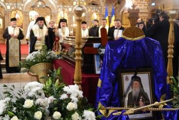 Sicriul cu trupul IPS Justinian Chira a ajuns la Catedrala Episcopala din Baia Mare (FOTO)