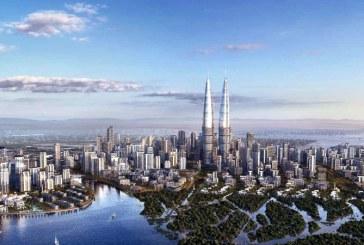 A inceput contructia celui mai inalt turn din lume in Dubai