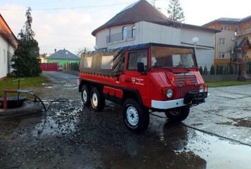 Autospeciala noua pentru pompierii din Viseu de Sus (FOTO)