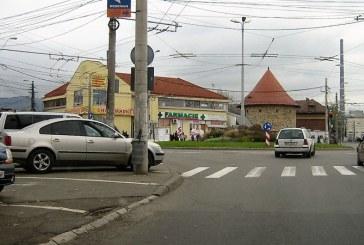 O intersectie periculoasa si o administratie incompetenta (FOTO)