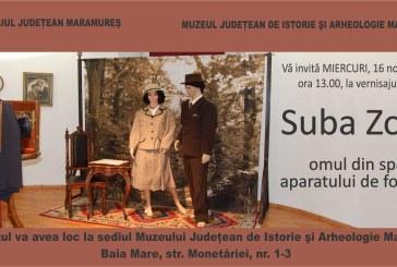 """Expozitie: """"Suba Zoltán – omul din spatele aparatului de fotografiat"""""""