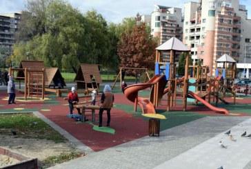 Patru locuri de joaca au fost finalizate in Municipiul Baia Mare