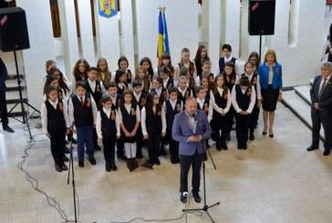 Marea Unire sarbatorita la Consiliul Judetean Maramures