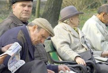 Numărul mediu de pensionari a scăzut cu 7.000 în trimestrul I