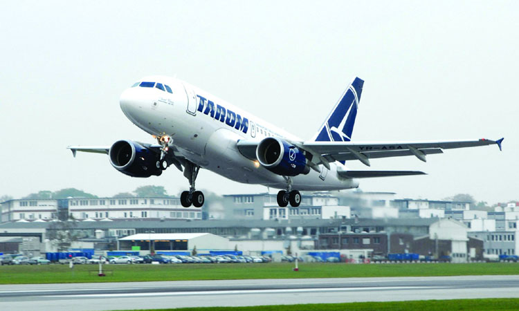 TAROM, crestere cu 25% a afacerilor in ianuarie 2019; numarul de pasageri transportati, plus 17%