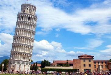 Celebrul Turn din Pisa, mai putin inclinat ca odinioara