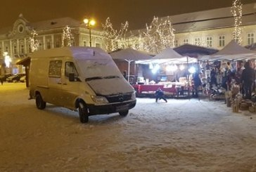 """Targul de Iarna din Centrul Vechi baimarean, la discretia """"smecherilor"""" cu tupeu. Se aude, nea (S)Perian?!(FOTO)"""