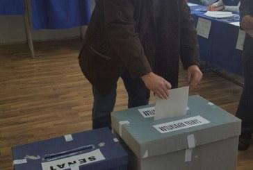 """Gheorghe Simon: """"Am votat cu incredere pentru economia Romaniei, pentru locuri de munca mai bine platite, pentru pensii mai mari!"""""""