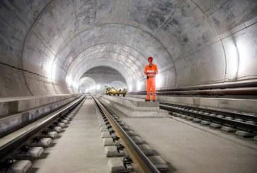 Cel mai lung tunel din lume, deschis traficului in Elvetia