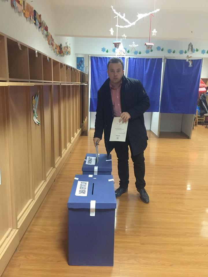 """Liviu Marian Pop (PSD): """"Am votat cu incredere pentru un Maramures mai puternic si pentru o Romanie puternica"""""""