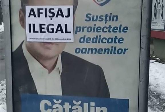 Autoritati lipsite de curaj in fata afiselor ilegale ale primarului arestat. USR ia atitudine (VIDEO)