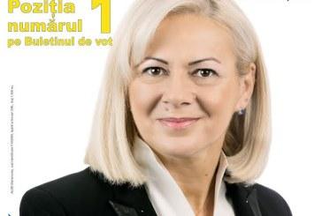 Deputatul ALDE Cornelia Negrut, primul parlamentar al judetului Maramures, primul pe buletinul de vot!