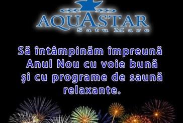 BAIE NOCTURNA in noaptea dintre ani la Aquastar!