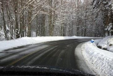 Maramures: Majoritatea sectoarelor de drumuri nationale au carosabilul curat si umed