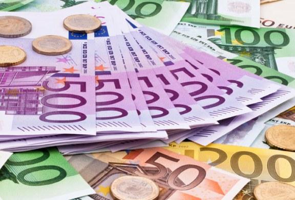 Euro s-a instalat la un nou etaj: 4,55
