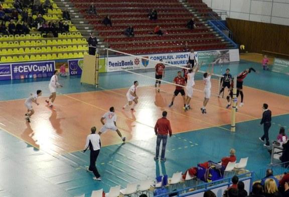 Volei masculin – Cupa Romaniei: Stiinta Explorari joaca miercuri returul din semifinale cu CSVM Zalau