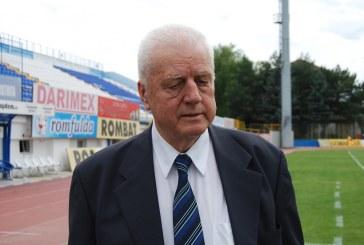 Ultimul Craciun pentru fostul presedinte al Gloriei Bistrita, Jean Padureanu