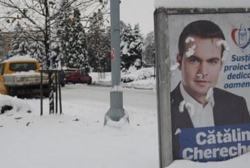 INCREDIBIL: Firma care a postat afisele lui Chereches nu plateste chirie Primariei