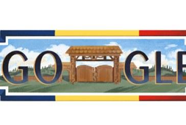 Element din Maramures utilizat de Google pentru Ziua Nationala a Romaniei