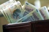 Câştigul salarial mediu net a coborât la 3.179 lei, în mai