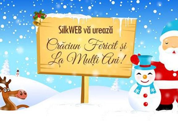 Silkweb va ureaza Craciun Fericit si La Multi Ani!
