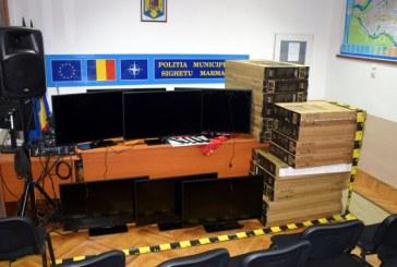 Sighetu Marmatiei: Televizoare LED furate dintr-o societate comerciala