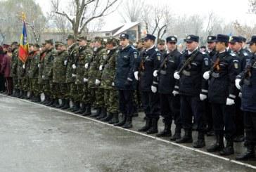 Parada militara de Ziua Nationala a Romaniei in municipiul Baia Mare