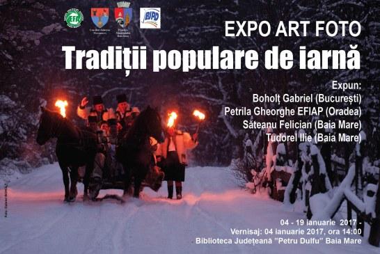 """Expozitie de fotografie: """"Traditii populare de iarna"""""""