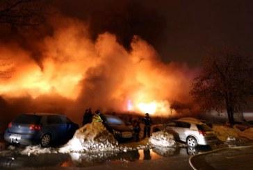 Un incendiu puternic a izbucnit la clubul Bamboo din Capitala (VIDEO)