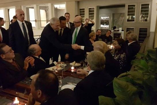Liviu Dragnea si Sorin Grindeanu, la cina cu Donald Trump