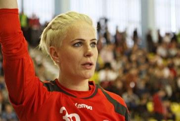 Handbal feminin: Paula Ungureanu, desemnata de EHF cea mai buna jucatoare a lunii februarie
