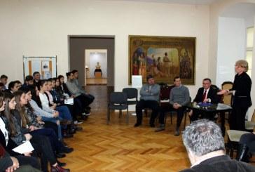 George Pop de Basesti, omagiat de elevi (FOTO)