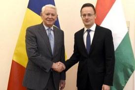 Teodor Melescanu: Dorim sa facem ca relatiile dintre Romania si Ungaria sa devina un model