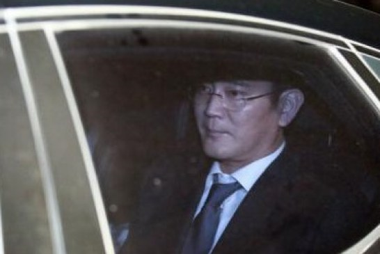 Mostenitorul imperiului Samsung a fost arestat