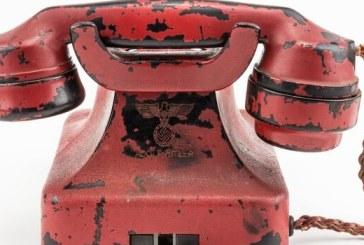 Un telefon care i-a apartinut lui Hitler, vandut in SUA cu 243.000 de dolari