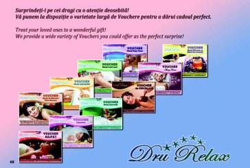 De 8 martie, cucereste femeile din viata ta cu un cadou oferit de DruRelax