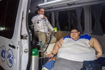 Cel mai greu barbat din lume, care a avut 595 kg, se pregateste de operatia de slabit