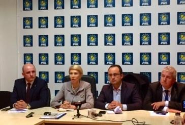 Presedintele interimar al PNL, Raluca Turcan, prezent in Baia Mare. Vezi ce a spus