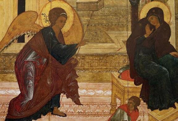 25 martie: Crestinii sarbatoresc Buna Vestire
