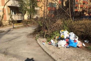 UPDATE: Gunoaiele de pe strada Oituz, ridicate dupa o interventie a viceprimarului Cristian Niculescu Tagarlas