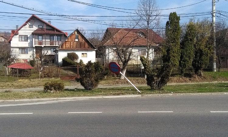 De la cititori: Cum arata intrarea dinspre vest in Municipiul Baia Mare (FOTO)